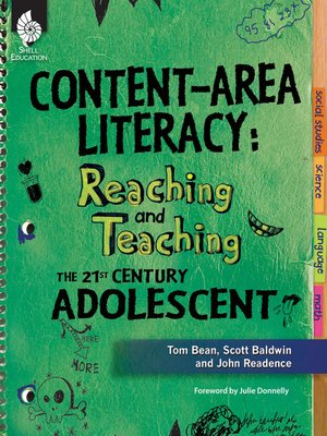 cover image of Content-Area Literacy: Reaching and Teaching the 21st Century Adolescent