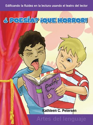 cover image of ¿Poesía? ¡Que horror!