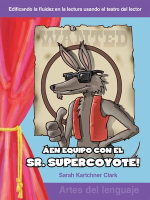 cover image of ¡En equipo con el Sr. Supercoyote!