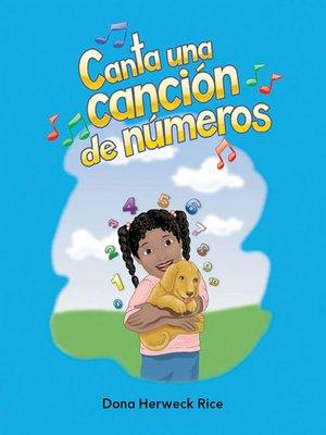 cover image of Canta una canción de números