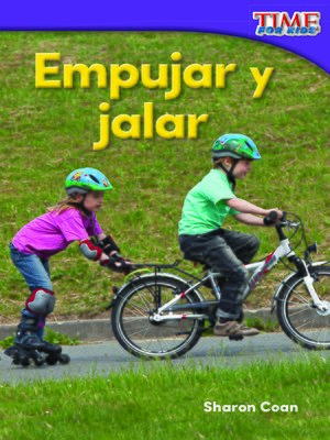 cover image of Empujar y jalar (Spanish)