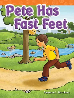 cover image of Pete Has Fast Feet