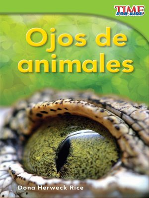 cover image of Ojos de animales