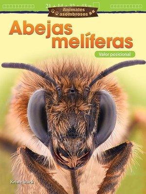 cover image of Animales asombrosos Abejas melíferas: Valor posicional