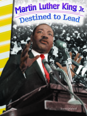 cover image of Martin Luther King Jr.: Destined to Lead