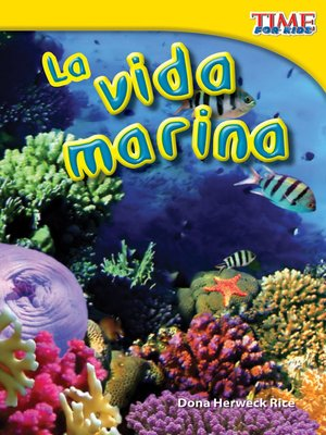 cover image of La vida marina