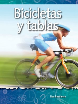 cover image of Bicicletas y tablas