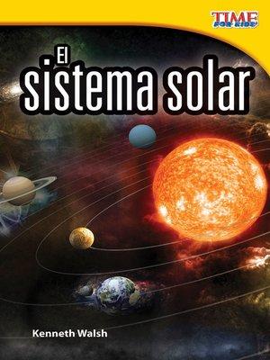cover image of El sistema solar