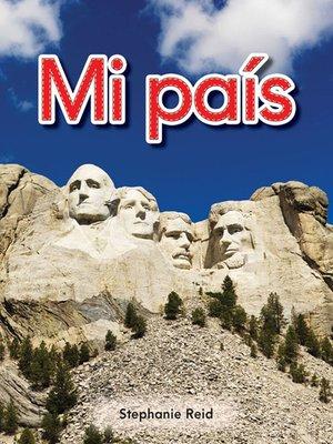 cover image of Mi país