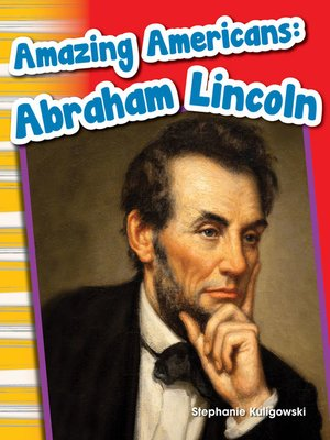 cover image of Amazing Americans: Abraham Lincoln