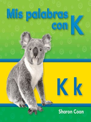 cover image of Mis palabras con K