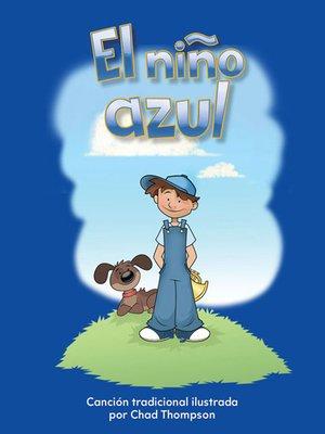 cover image of El niño azul