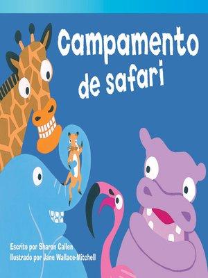 cover image of Campamento de safari