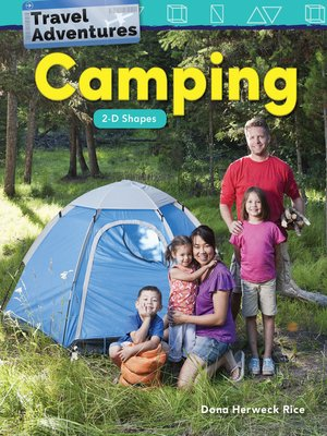 cover image of Travel Adventures: Camping 2-D Shapes