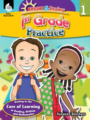 cover image of Bright & Brainy: 1st Grade Practice