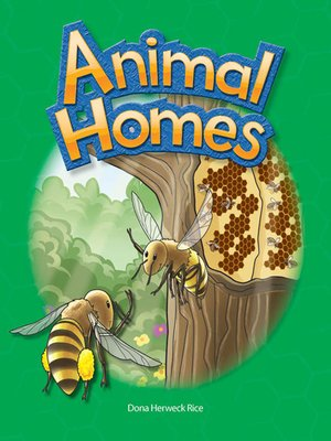 cover image of Animal Homes