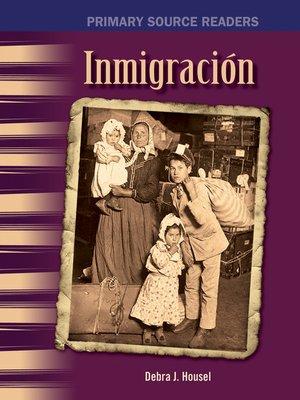 cover image of Inmigración