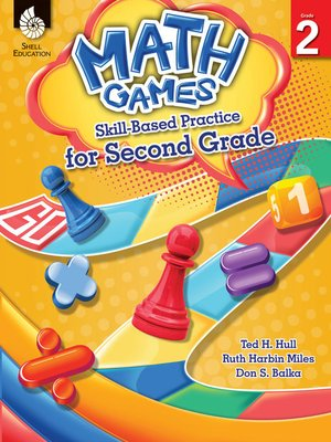 cover image of Math Games: Skill-Based Practice for Second Grade