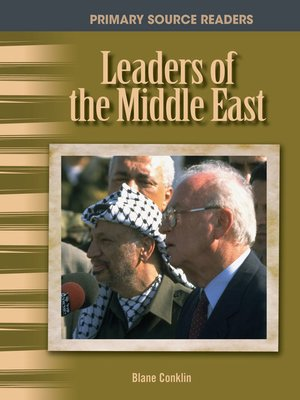 cover image of Leaders of the Middle East