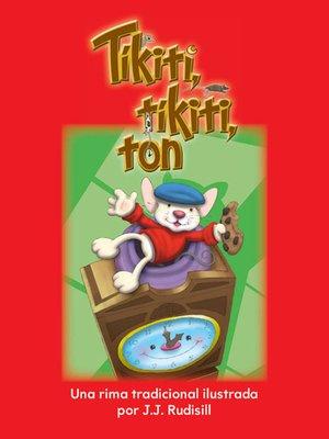 cover image of Tíkiti, tíkiti, ton