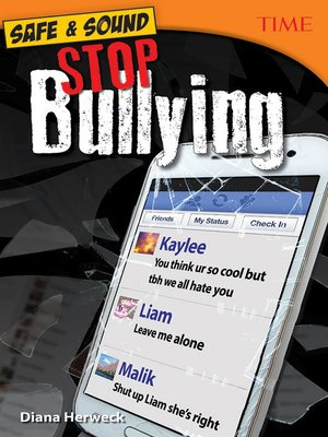 cover image of Safe & Sound: Stop Bullying