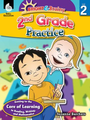 cover image of Bright & Brainy: 2nd Grade Practice