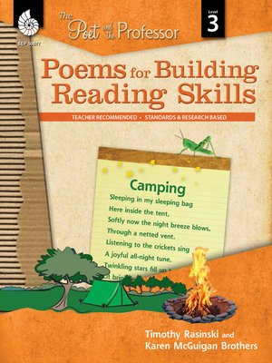 cover image of Poems for Building Reading Skills: The Poet and the Professor Level 3