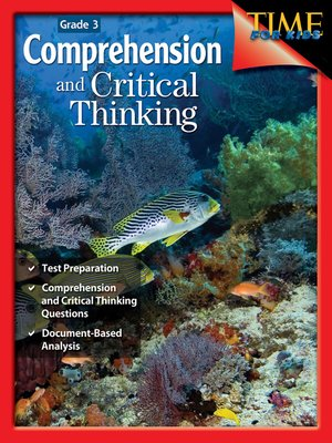 cover image of Comprehension and Critical Thinking Grade 3