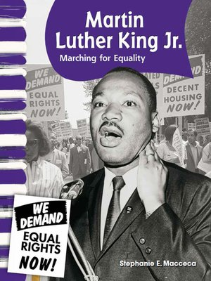 cover image of Martin Luther King Jr.: Marching for Equality