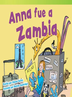 cover image of Anna fue a Zambia