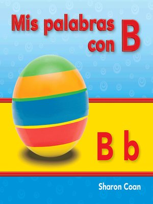 cover image of Mis palabras con B