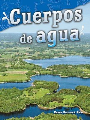 cover image of Cuerpos de agua