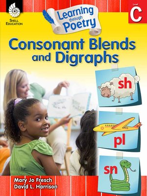 cover image of Learning through Poetry: Consonant Blends and Digraphs Level C