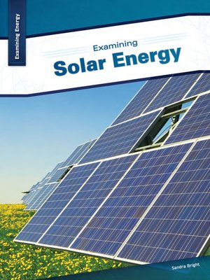 cover image of Examining Solar Energy