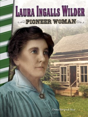 cover image of Laura Ingalls Wilder: Pioneer Woman