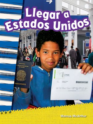 cover image of Llegar a Estados Unidos