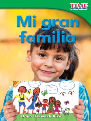 cover image of Mi gran familia