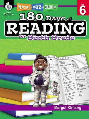 cover image of 180 Days of Reading for Sixth Grade: Practice, Assess, Diagnose