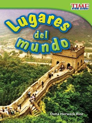 cover image of Lugares del mundo