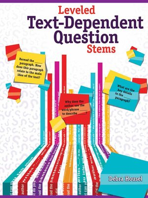 cover image of Leveled Text-Dependent Question Stems