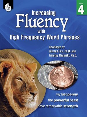 cover image of Increasing Fluency with High Frequency Word Phrases Grade 4