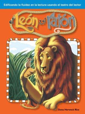 cover image of El León y el ratón