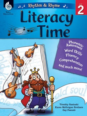 cover image of Rhythm & Rhyme Literacy Time Level 2