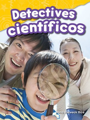 cover image of Detectives científicos