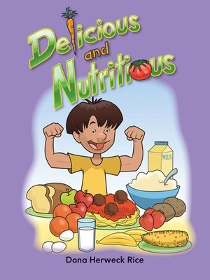 cover image of Delicious and Nutritious