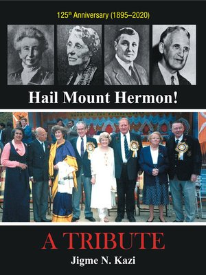 cover image of Hail Mount Hermon!