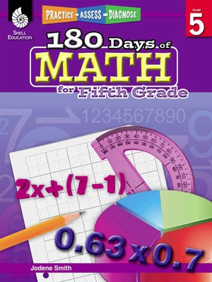 cover image of 180 Days of Math for Fifth Grade: Practice, Assess, Diagnose