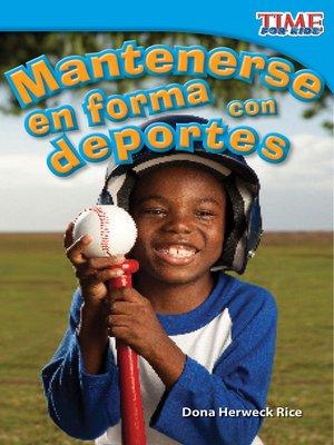 cover image of Mantenerse en forma con deportes