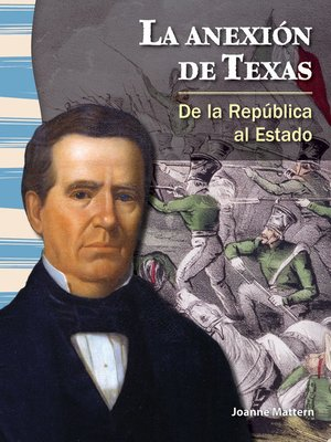 cover image of La anexión de Texas