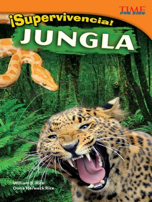 cover image of ¡Supervivencia! Jungla